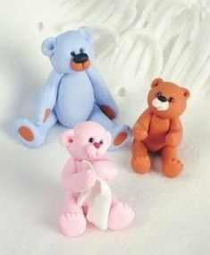 Make a polymer clay bear. . Free tutorial with pictures on how to sculpt a clay bear in under 40 minutes by molding with polymer clay, knitting needles, and clay. Inspired by animals. How To posted by Search Press. Difficulty: 3/5. Cost: Cheap. Steps: 11