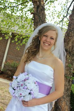 Strapless Wedding Gown by StitchPrincess