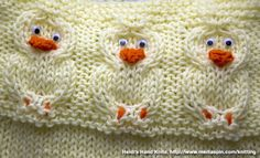 More Free Knitting Patterns for Babies and Kids
