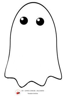 Easy ghost outline for Halloween door decs. RA life is ...