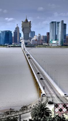 Bridge to Macau