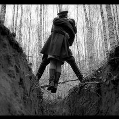 Beso en el bosque