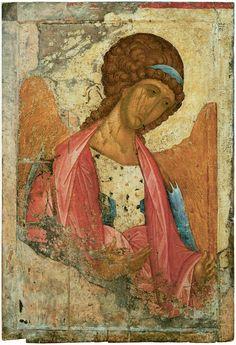 Andrei Rublev (Russian, c 1360-1430) Archangel Michael, c 1410