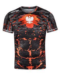 BIAŁO CZERWONA DUMA Koszulka Patriotyczna Super Koszulki Polski Polska
