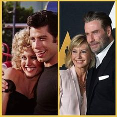 ~ Olivia Newton-john & John Travolta ~ Grease 1978, Grease Movie, Hollywood Actor, Classic Hollywood, Hollywood Stars, Silent Film Stars, Movie Stars, Famous Tv Couples, Grease Lightening