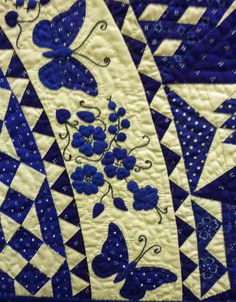 Hungary - Love the butterflies and flowers in this quilt