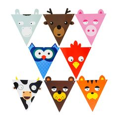 image Party Bunting, Bunting Banner, Cheap Banners, Diy And Crafts, Paper Crafts, Happy Birthday Parties, Streamers, Baby Shower Decorations, Gifts For Kids