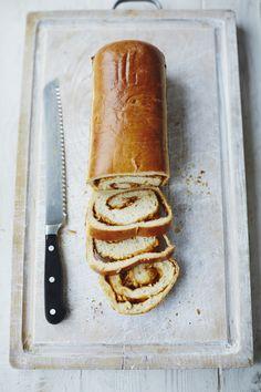 Marmite & Cheddar swirl loaf