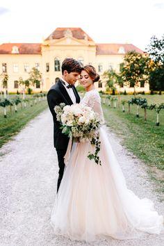 Say YES in Austria Eckartsau | Luxury Destination Wedding Planner Europe Wedding Groom, Wedding Couples, Bride Groom, Wedding Day, Rental Wedding Dresses, Destination Wedding Planner, Wedding Planners, Groom Attire, Elegant Wedding