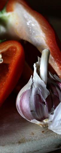 Garlic is always the secret ingredient.