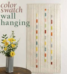 Free Quilt Pattern - Color Swatch Quilt