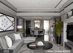 L′atelier Fantasia 繽紛設計設計作品繽紛_31,裝潢風格為新古典,是一間新成屋(5年以下),總坪數為21~50坪,格局為三房,更多L′atelier Fantasia 繽紛設計設計案例作品都在設計家 Searchome