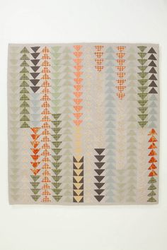 A.P.C. Semiologie Quilt, Flying Geese ~ Anthropologie