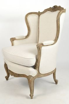 Antik fotel Wingback Chair, Accent Chairs, Furniture, Home Decor, Upholstered Chairs, Decoration Home, Room Decor, Wing Chairs, Wingback Chairs
