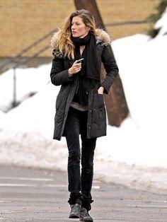 #gisele #style #winter