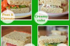Four New Veggie Sandwiches For Kids