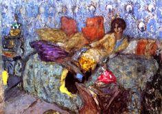 Madame de Saint-Maurice / Edouard Vuillard - circa 1917-1918