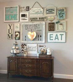 Bon DIY Farmhouse Living Room Wall Decor
