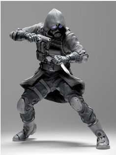 Figura Resident Evil. Vector, 18 cms. NECA Figura de 18 cms de Vector, uno de los personajes del videjuego Resident Evil.