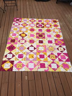Mendocino Economy Block Quilt | Flickr - Photo Sharing!