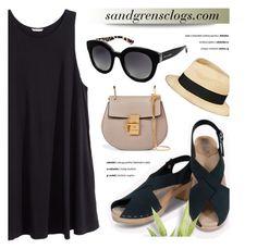 SANDGRENSCLOGS.com by monmondefou on Polyvore featuring polyvore fashion style H&M Chloé Eugenia Kim Dolce&Gabbana clothing Sandgrensclogs