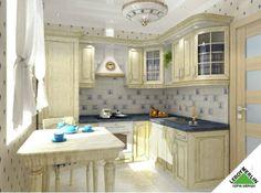 Каталог кухонь Леруа Мерлен: 47 реальных фото в квартирах и салонах