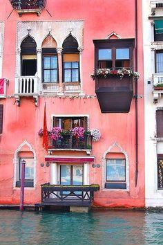 Balcony on the Canal, Venice