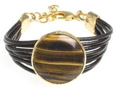 24K YellowGold Plated Natural Onyx Stone Black Leather Wrap Bracelet Modern Curated Collection,http://www.amazon.com/dp/B00JHA4NPW/ref=cm_sw_r_pi_dp_lxcBtb1B2X1K397X