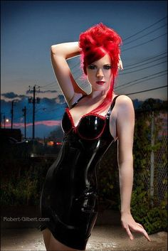 redhead latex Hot girls