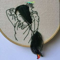 Embroidery Art and Hand Craft Artist-Model: Sheena Liam | ARTWOONZ Hand craft art by Sheena Liam #handcraft #handcraftideas #handcraftsforadults #creativeart #creativeideas #embroidery #embroiderypatterns #embroiderydesigns #embroideryideas #embroideryart #embroideryaesthetic<br> Embroidery Art and Hand Craft Artistl: Sheena Liam was born on May 7, 1991 in Selangor, Malaysia. She is a fashion model, hand craft and embroidery artist Embroidery Hoop Art, Cross Stitch Embroidery, Embroidery Patterns, Cross Stitching, Textile Art, Needlework, Drawings, Crafts, Romance