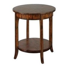 round bedside tables nightstands | the classic design of the Uttermost Carmel Lamp End Table. This table ...