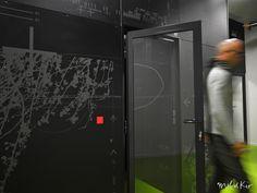 Décoration murale sur mesure pour datacenter Webaxys by Mel et Kio
