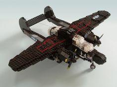 P-61B Black Widow #flickr #LEGO #MOC #plane