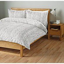 Buy John Lewis Xander Duvet Cover and Pillowcase Set Online at johnlewis.com
