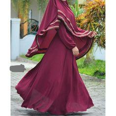 Niqab Fashion, Muslim Fashion, Fashion Wear, Niqab Style, Hijab Niqab, Sewing Patterns, Formal Dresses, Baby, How To Wear