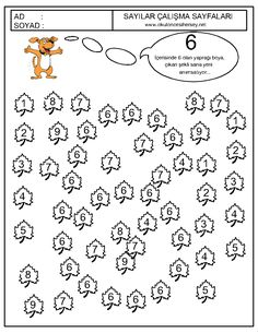Crafts,Actvities and Worksheets for Preschool,Toddler and Kindergarten.Free printables and activity pages for free.Lots of worksheets and coloring pages. Preschool Math, Kindergarten Worksheets, In Kindergarten, Math Activities, Numbers For Kids, Math Numbers, Math For Kids, Crafts For Kids, Preschool Painting