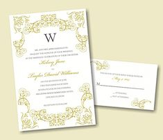 Create Your Own Wedding Invitation Suite 75