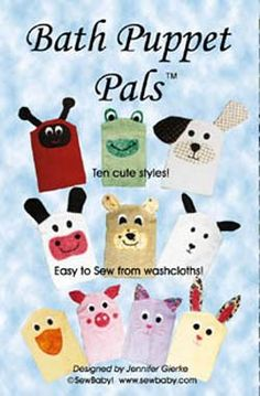 NearSea Naturals: Bath Puppet Pals