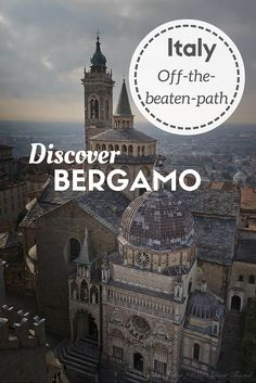 Bergamo, in Northern Italy, is much more than just an airport. Read why you should visit this beautiful medieval town on http://wild-about-travel.com/2016/03/discover-bergamo-beautiful-medieval-town-lombardy/?utm_content=buffer2651b&utm_medium=social&utm_source=pinterest.com&utm_campaign=buffer #Bergamo #Lombardia #Italy #Traveltips #Travelinspiration