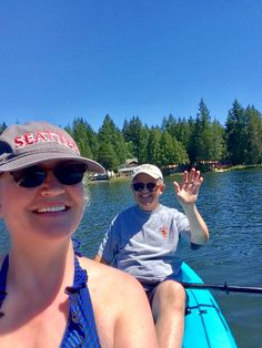 A day at the lake with Brett and Gretchen Seamons 2018
