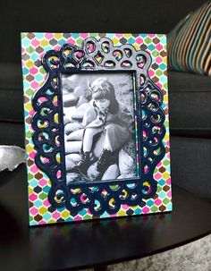 Mod Podge Fun - create stunning picture frames