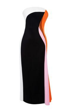 Josh Goot Paneled Neoprene Dress by Josh Goot - Moda Operandi