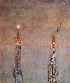 Winter (IV) - Mikalojus Ciurlionis