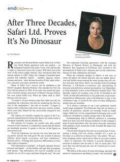 Take a look at the evolution of Safari Ltd®! | EdPlay Magazine | Pg. 46