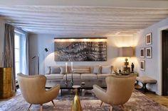 Los mejores proyectos del arquitecto y diseñador @jeanlouisdeniot    Para más de decoración de interiores visita nuestro blog: http://decorarunacasa.es/ decoración de interiores #decoración #mesasdecentro