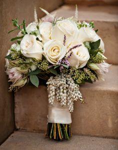 WeddingChannel Galleries: White Bridal Bouquet