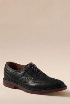 Men's Allen Edmonds McTavish Wingtip Shoes from Lands' End Canvas
