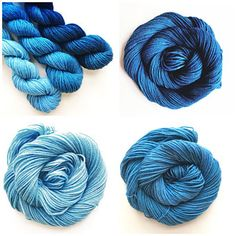 New Gradient Fade Yarn Sets Category in my Shop!
