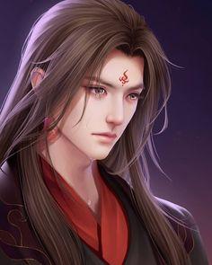 Anime Hairstyles Male, Boys Long Hairstyles, Fantasy Art Men, Beautiful Fantasy Art, Anime Art Girl, Manga Art, Blaise Harry Potter, Anime Long Hair, Handsome Anime Guys