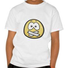 Emoji: Hushed Face T Shirts